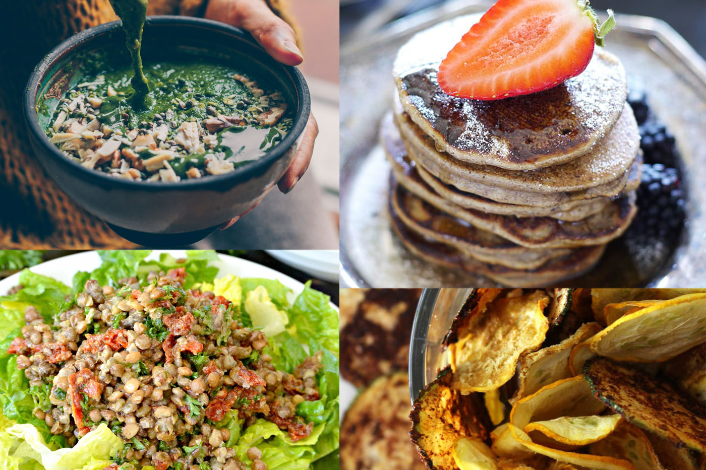 We curated 40 delicious, healthy plant based recipes for you.
