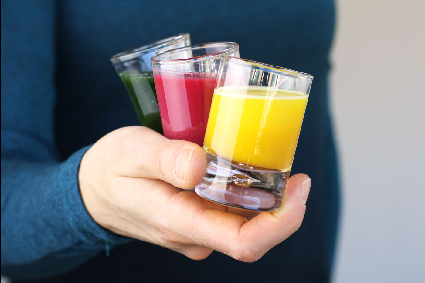 We are sharing with you three powerful homemade wellness shots to enhance your health and wellbeing.