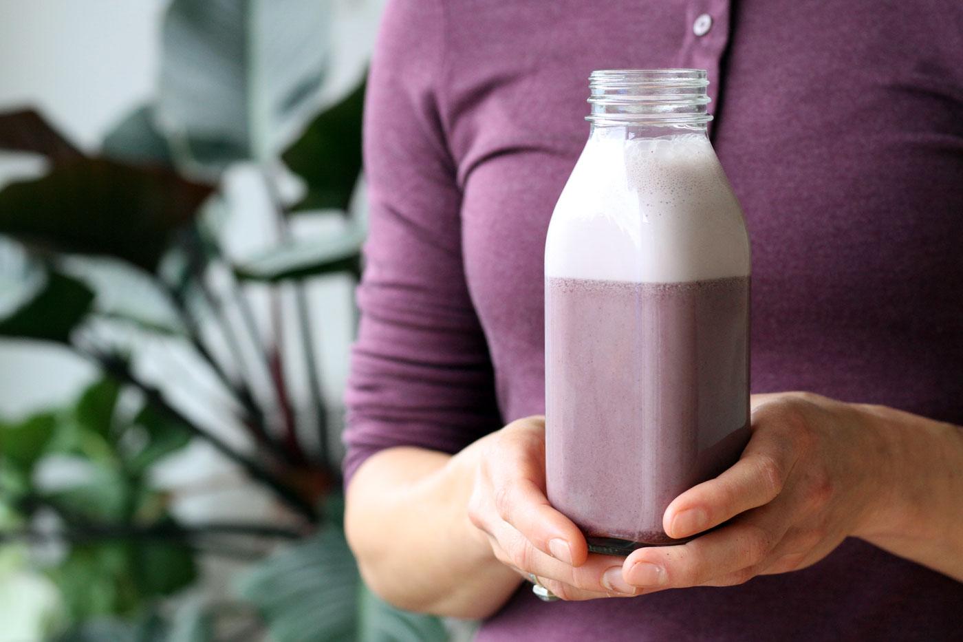 Dairy-Free Elderberry Milk | Natural Anti-Viral Remedy